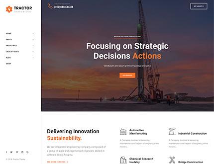 Header Left Homepage